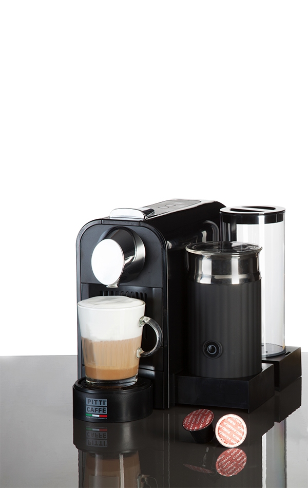 NEXT PLUS capsules with milk frother