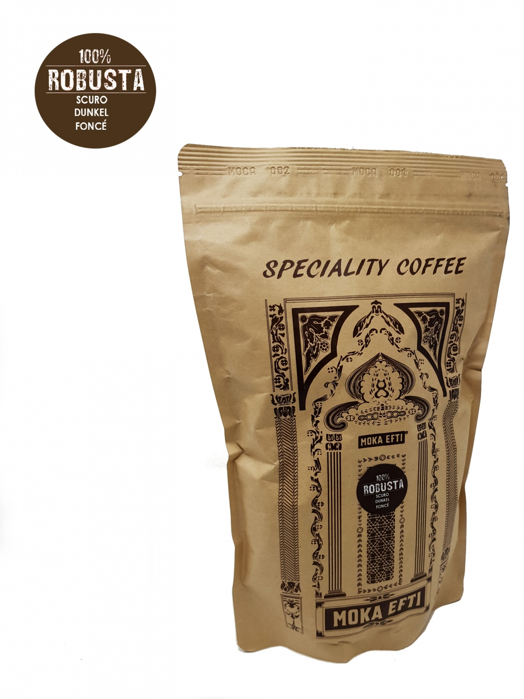 Speciality Coffee Robusta 100% beans 500 Gr.
